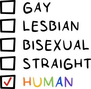 Pride Human SVG Cut File