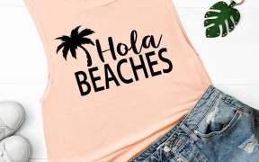 Beach SVG image