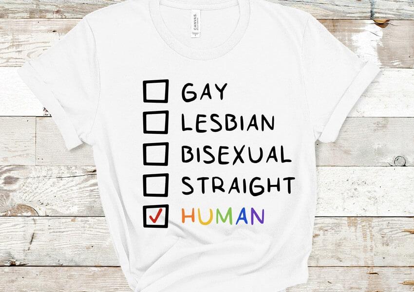 Pride Human SVG File