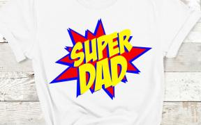 Super Dad SVG