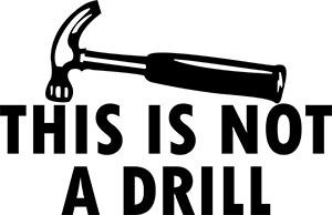 This is Not a Drill SVG Download