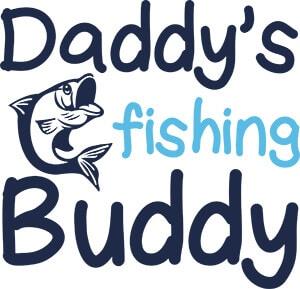 Daddy's Fishing Buddy SVG Download