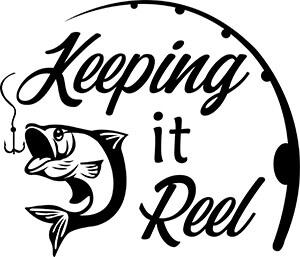 Keeping It Reel Fishing SVG File
