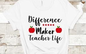 Diference Maker Teacher Life SVG File