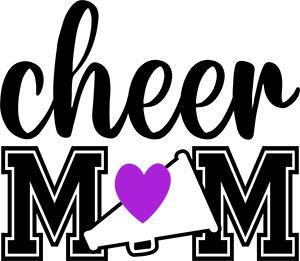 Cheer Mom SVG Free File