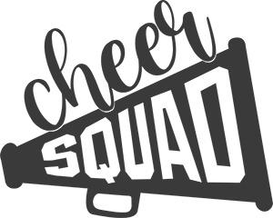 Cheer Squad Free SVG File