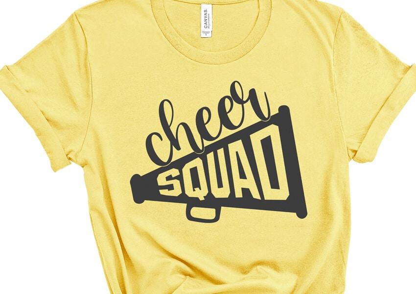 Cheer Squad Free SVG Cut File