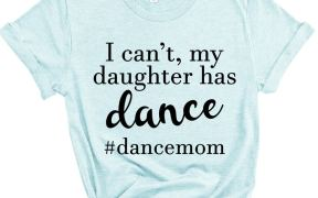 I Can't My Daughter Has Dance Shirt SVG