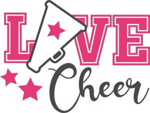 Free Cheer SVG Cut File