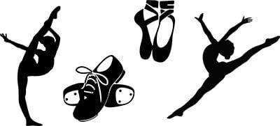 free dance svg cut files