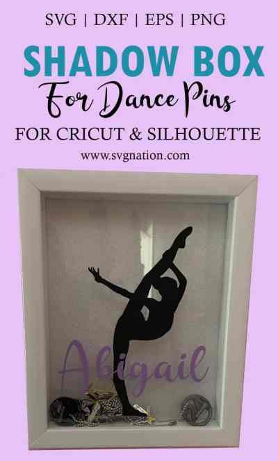 Shadow Box for Dance Pins Tutorial