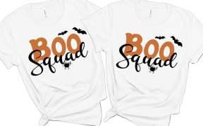 Boo Squad Free SVG