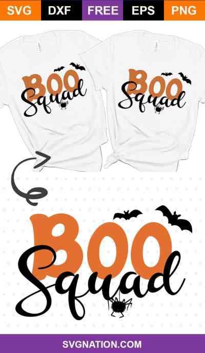 Boo Squad SVG File