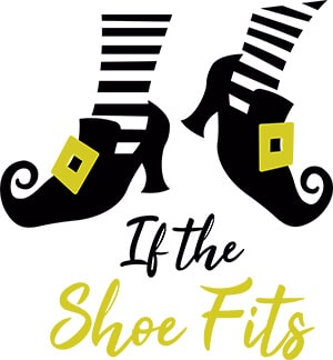If the Shoe Fits Witch SVG Cut File