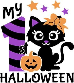 My 1st Halloween SVG File