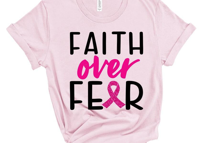 faith over fear svg file
