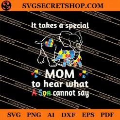 Autism Elephant SVG