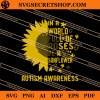 Sunflower Autism Awareness SVG