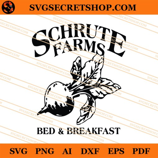 Schrute Farms Bed And Breakfast SVG