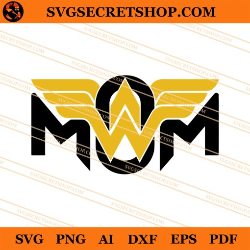 Wonder Mom SVG