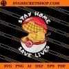 Charmander Stay Home Save Lives SVG