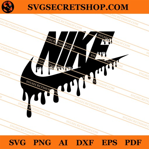 Dripping Nike SVG