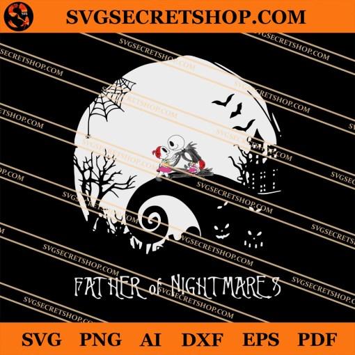 Jack Skellington Father Of Nightmares SVG