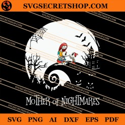 Sally Mother Of Nightmares SVG
