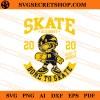 Skate Academy Bone To Skate SVG