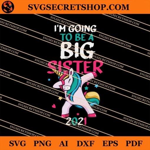 Unicorn Sister SVG
