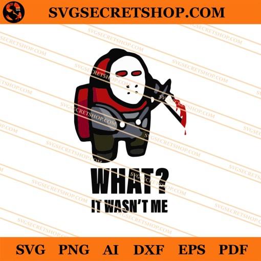 Jason Among Us SVG