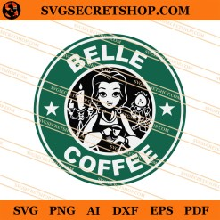 Belle Coffee SVG