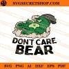 Weed Bear SVG