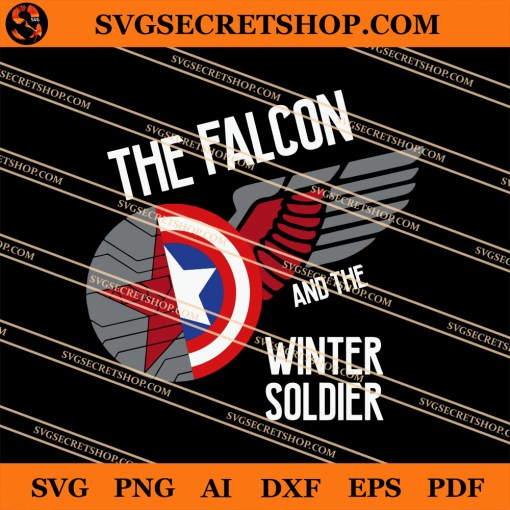The Falcon And The Winter Soldier SVG