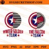 The Falcon And Winter Soldier SVG