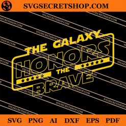 The Galaxy Honors The Brave SVG