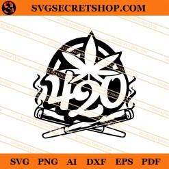 420 Weed SVG