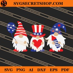 4th Of July Gnome SVG
