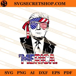 Merica Trump SVG