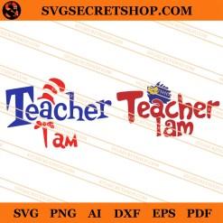 Seuss Teacher I Am SVG