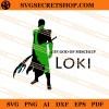The God Of Mischief Loki SVG