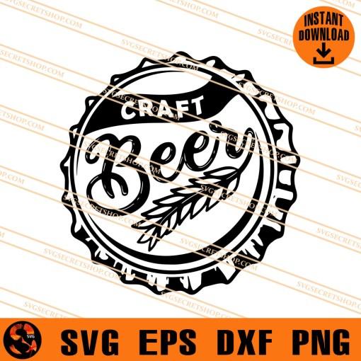Beer Bottle Cap SVG