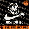 Chucky Just Do It SVG