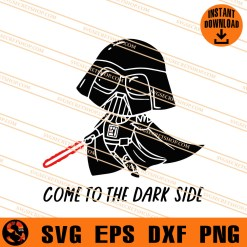 Come To The Dark Side SVG