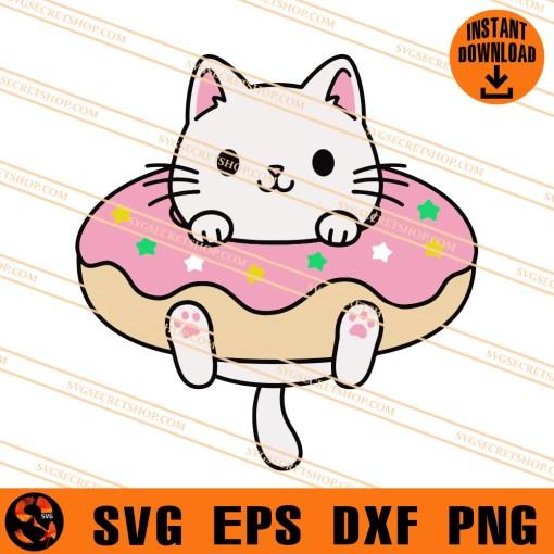 Donut Cat SVG