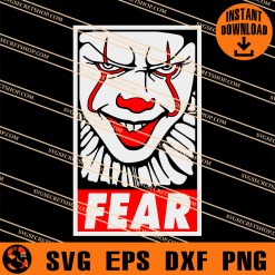 Fear Pennywise SVG