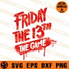 Friday The 13th The Game SVG