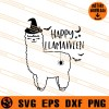 Happy Llamaween SVG