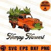 Hempy Harvest Truck SVG