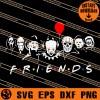 Horror Friends SVG